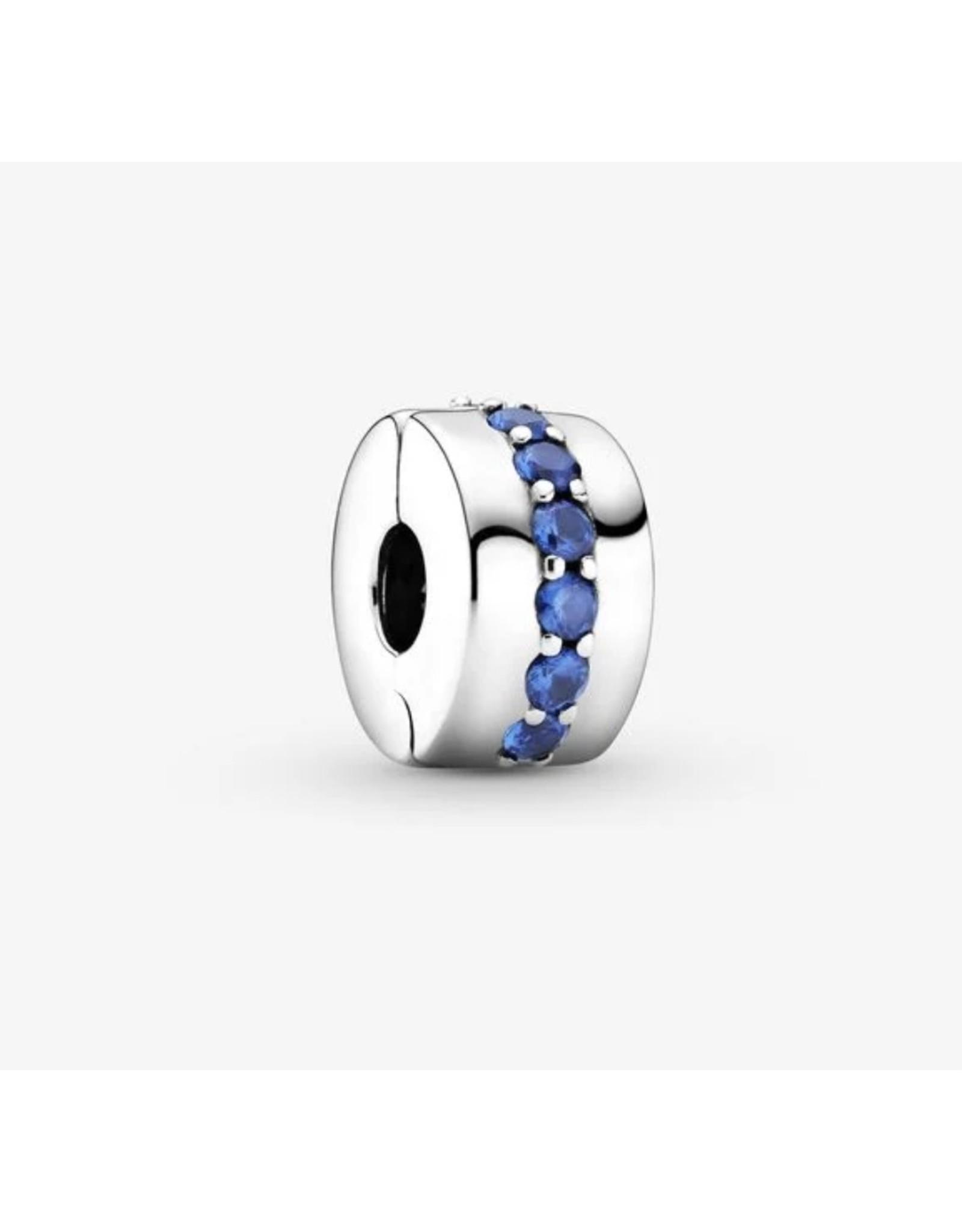 Pandora Pandora Clip,791972C01,Blue Sparkle