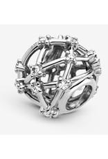 Pandora Pandora Charm,799240C01,Openwork Star Constellations, Sterling Silver