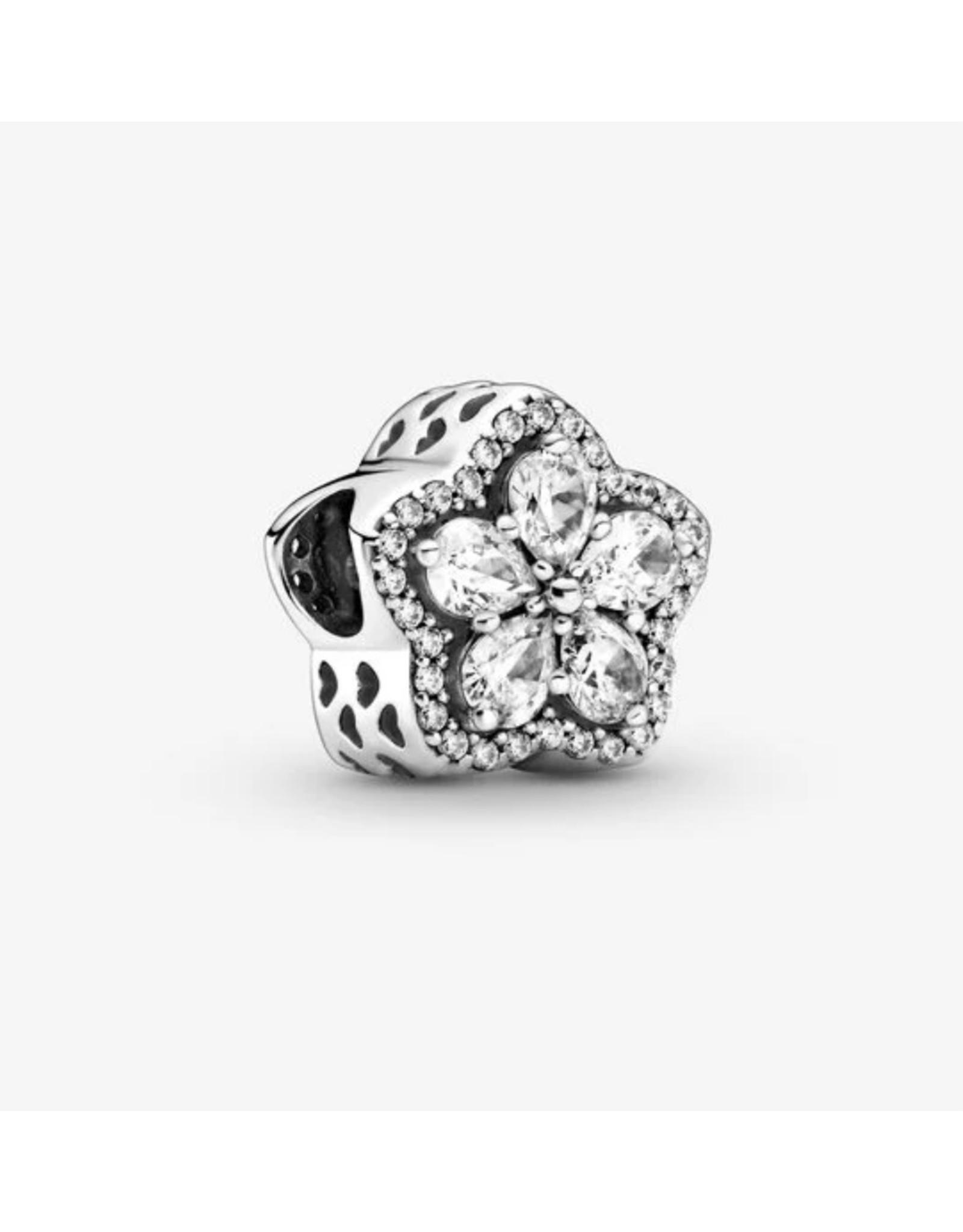 Pandora Pandora Charm,799224C01,Sparkling Snowflake Pave