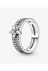 Pandora Pandora Ring,199236C01, Sparkling Snowflake, Clear CZ