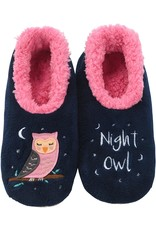 Snoozies Soft Plush Women Snoozies, Owl Night