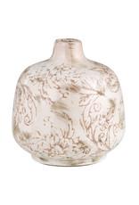 47th & Maine Cream Bud Vase