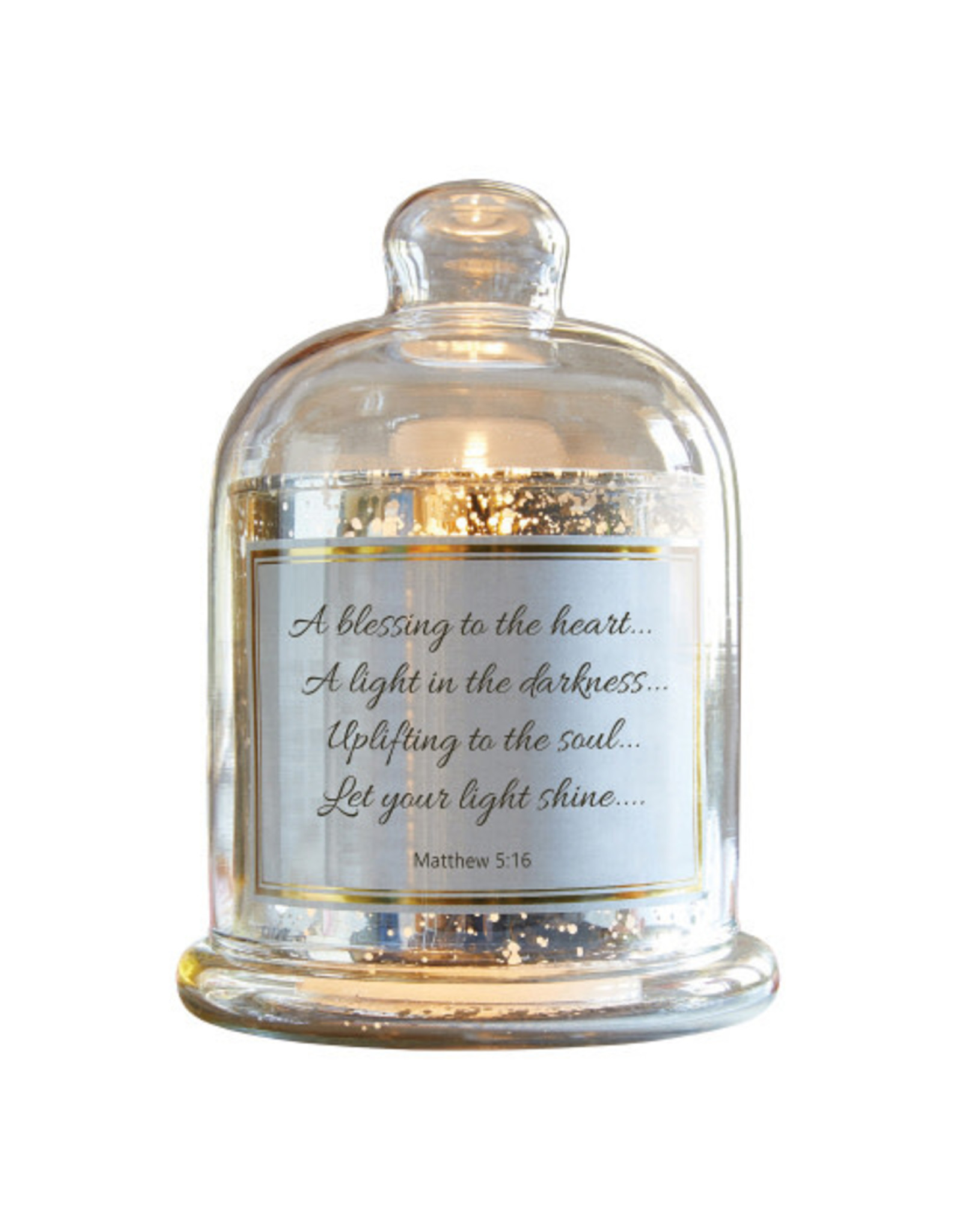 Heartfelt LED Candle Dome, A Blessing To The Heart -Matthew 5:16