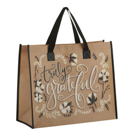 Gifts & Faith Tote Bag, Truly Grateful