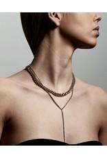 Pilgrim Necklace Radiance, Gold Plated Crystal