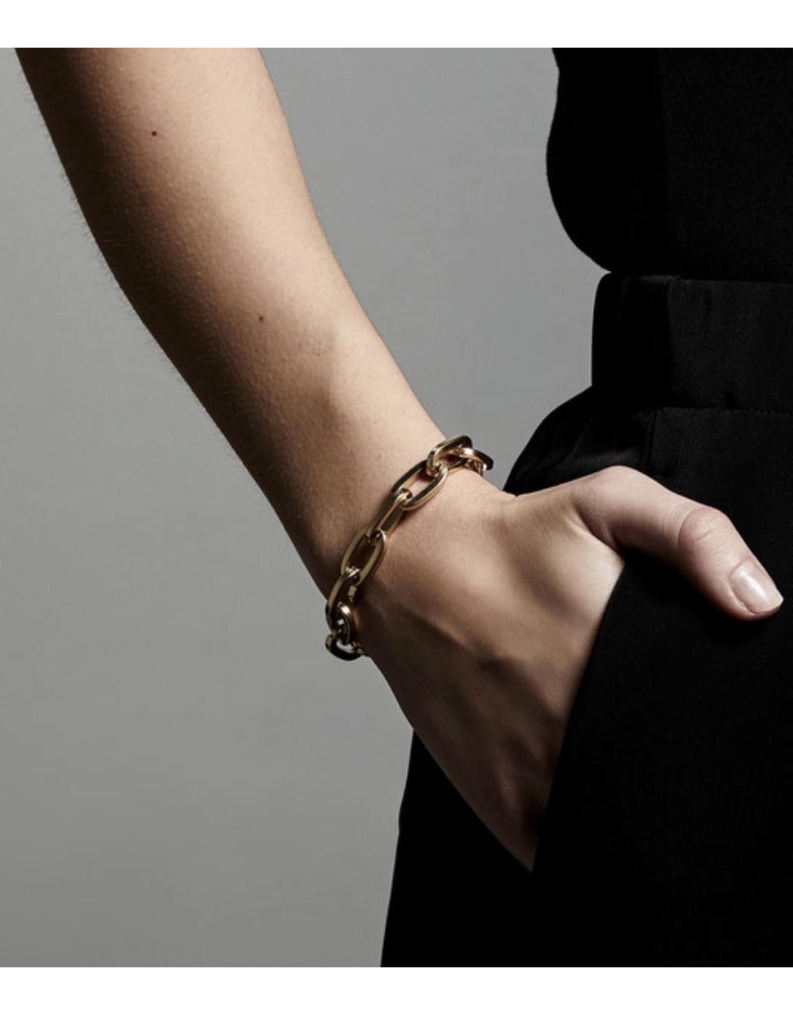 Pilgrim Bracelet Tolerance Gold Plated