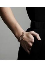 Pilgrim Bracelet Warmth Rose Gold Plated Rose