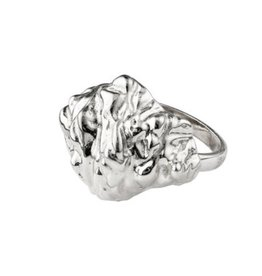 Pilgrim Ring Tolerance, Silver Plated