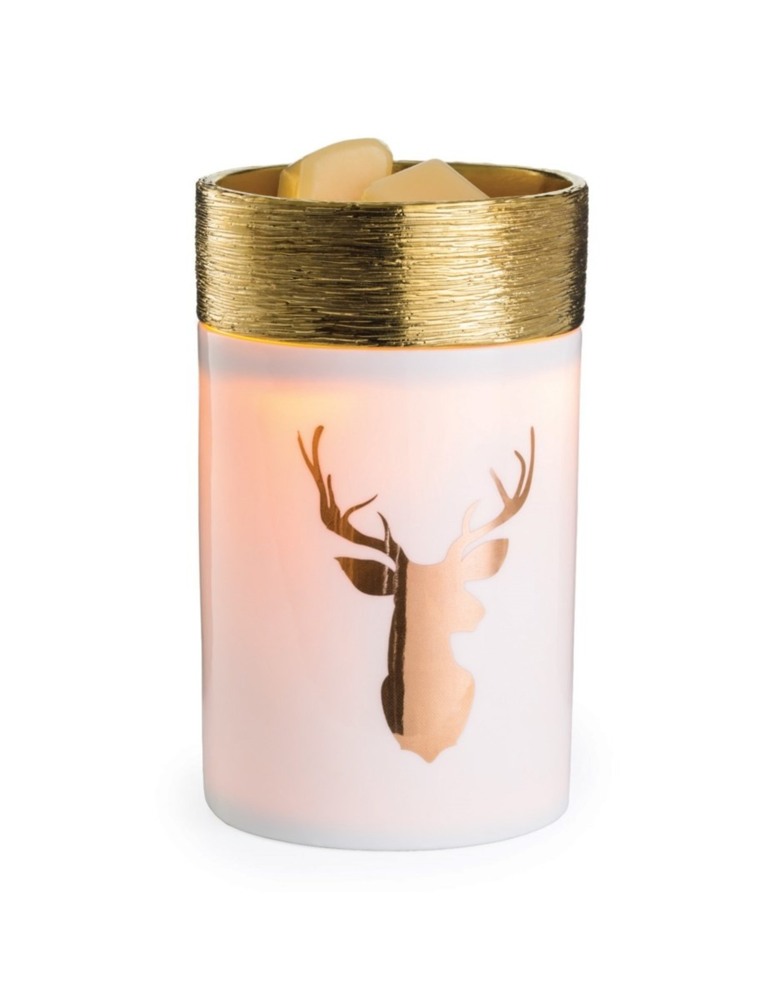 Candle Warmer Golden Stag Illumination Fragrance Warmer