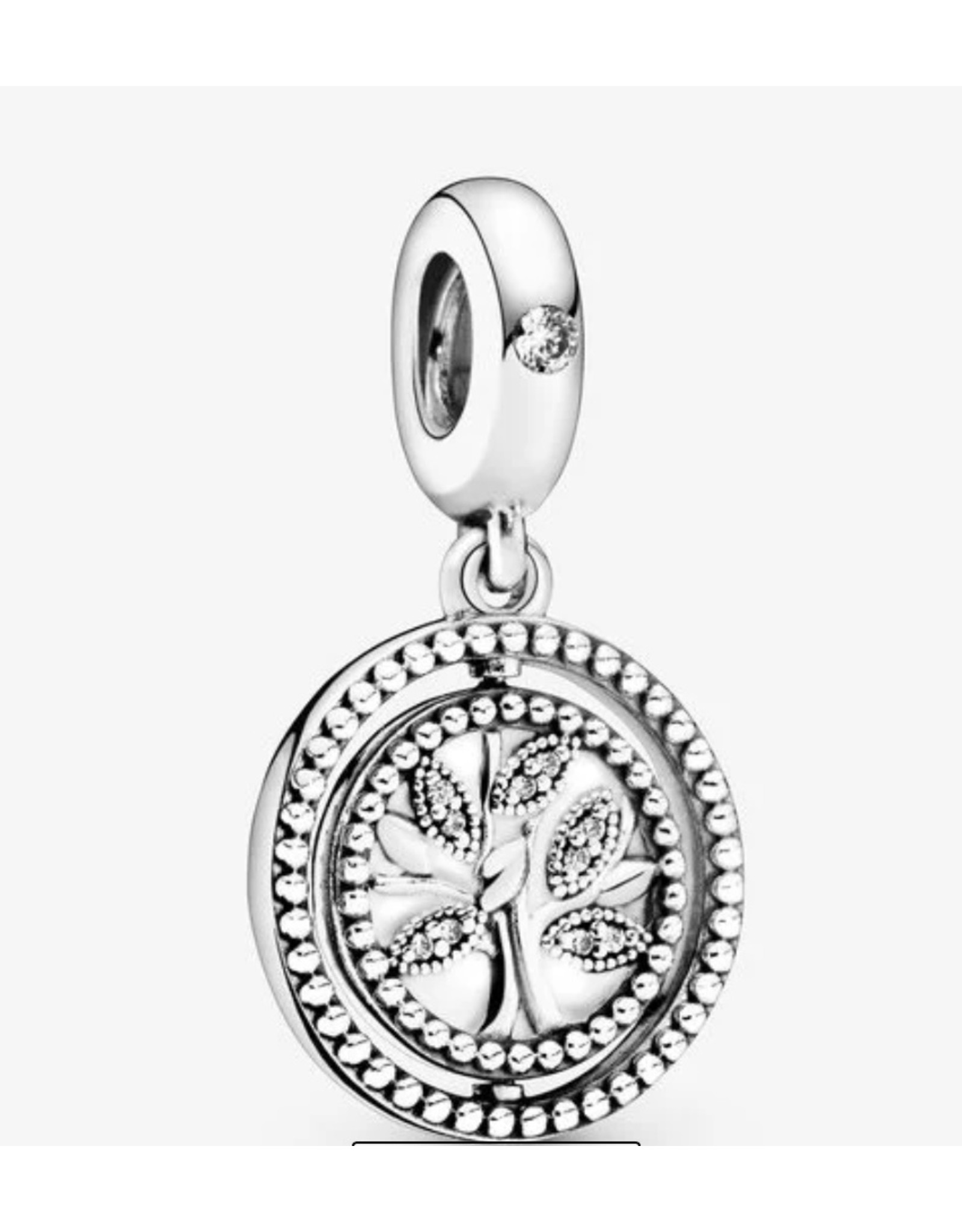 Pandora Pandora Charm, 797786CZ, Spinning Tree Of Life