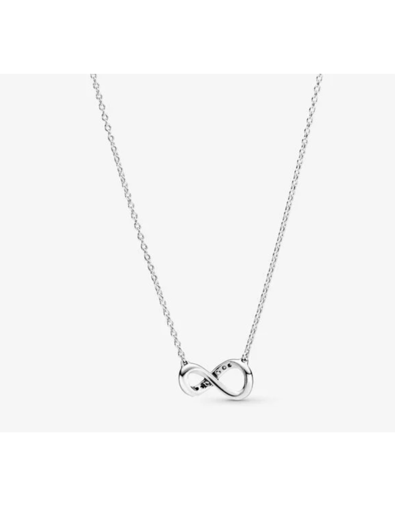 Pandora Pandora Necklace,398821C01-50, Sparkling Infinity