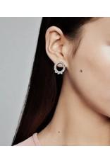 Pandora Pandora Earrings,297545CZ,Ice Cube