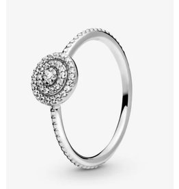 Pandora Pandora Ring,190986CZ, Radiant Elegance, Clear CZ