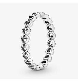 Pandora Pandora Ring.190980, Linked Love, Band of Hearts
