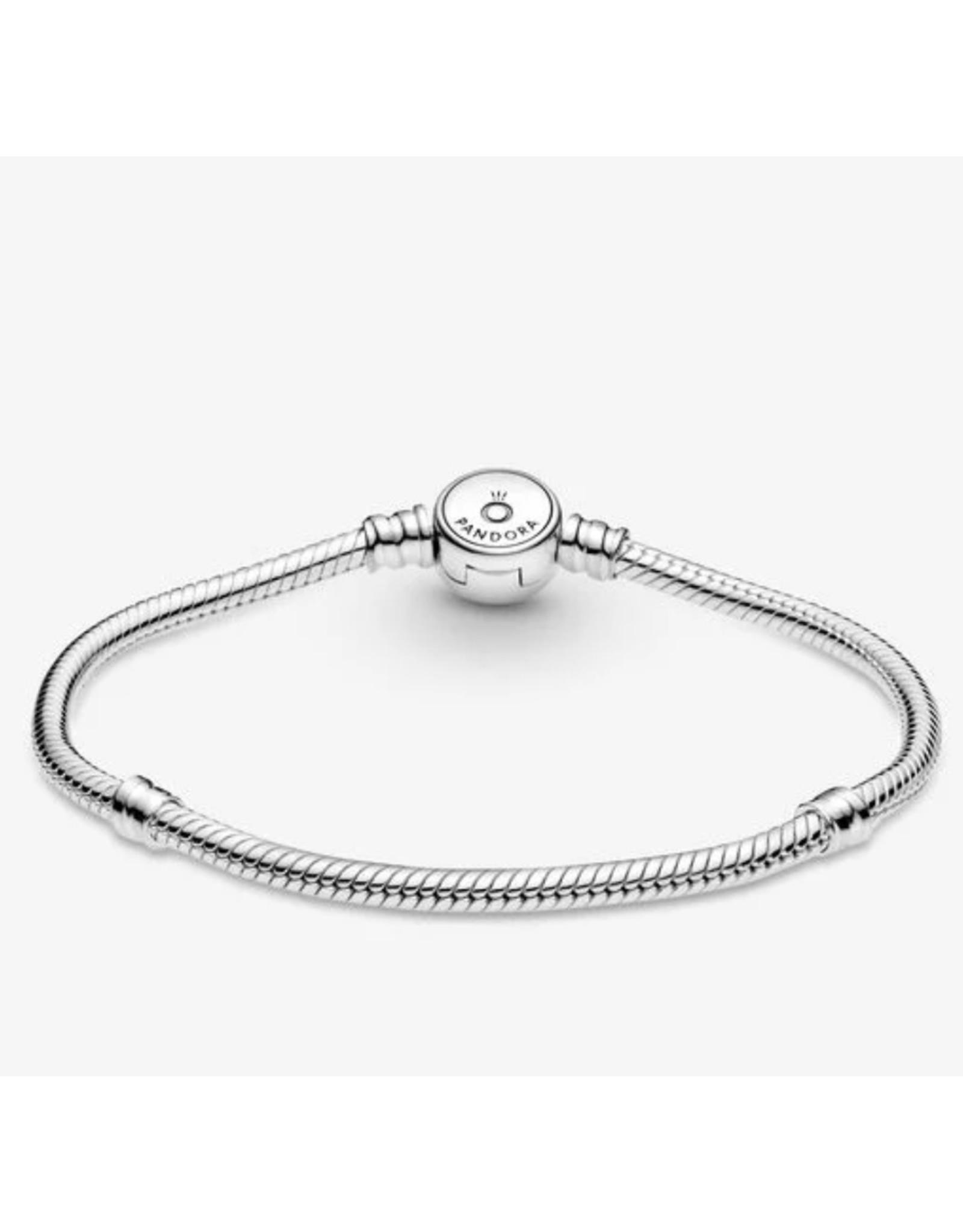 Pandora Pandora Bracelet,599288C01,Sparkling Blue Disc Clasp