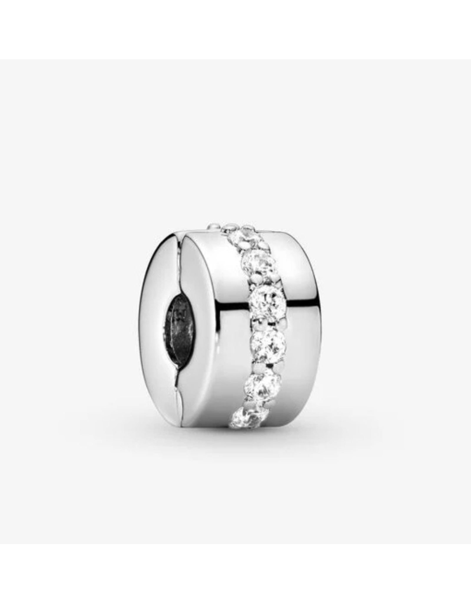 Pandora Pandora Clip,791972CZ, Shining Path, Clear CZ