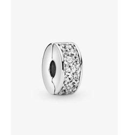 Pandora Pandora Clip,791817CZ, Shining Elegance, Clear CZ