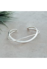 Glee jewelry Aurelia Cuff Silver