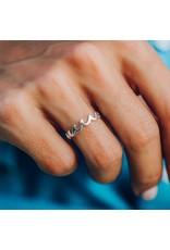 Pura Vida Wave Band Ring