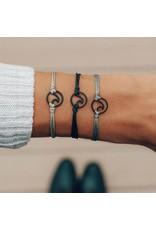 Pura Vida Black Wave Bracelet