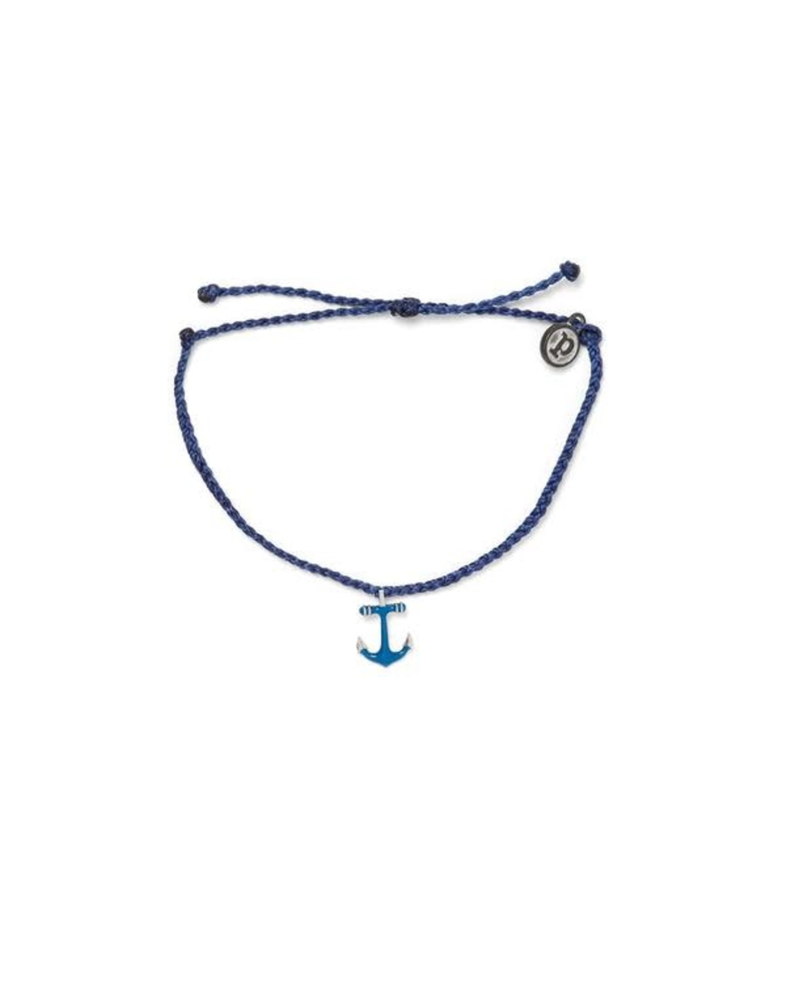 Pura Vida Anchors Away, Silver, Indigo