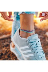 Pura Vida Original Anklet, Good Vibes
