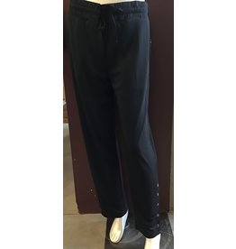 Tribal Pants Pull On Snap Detail