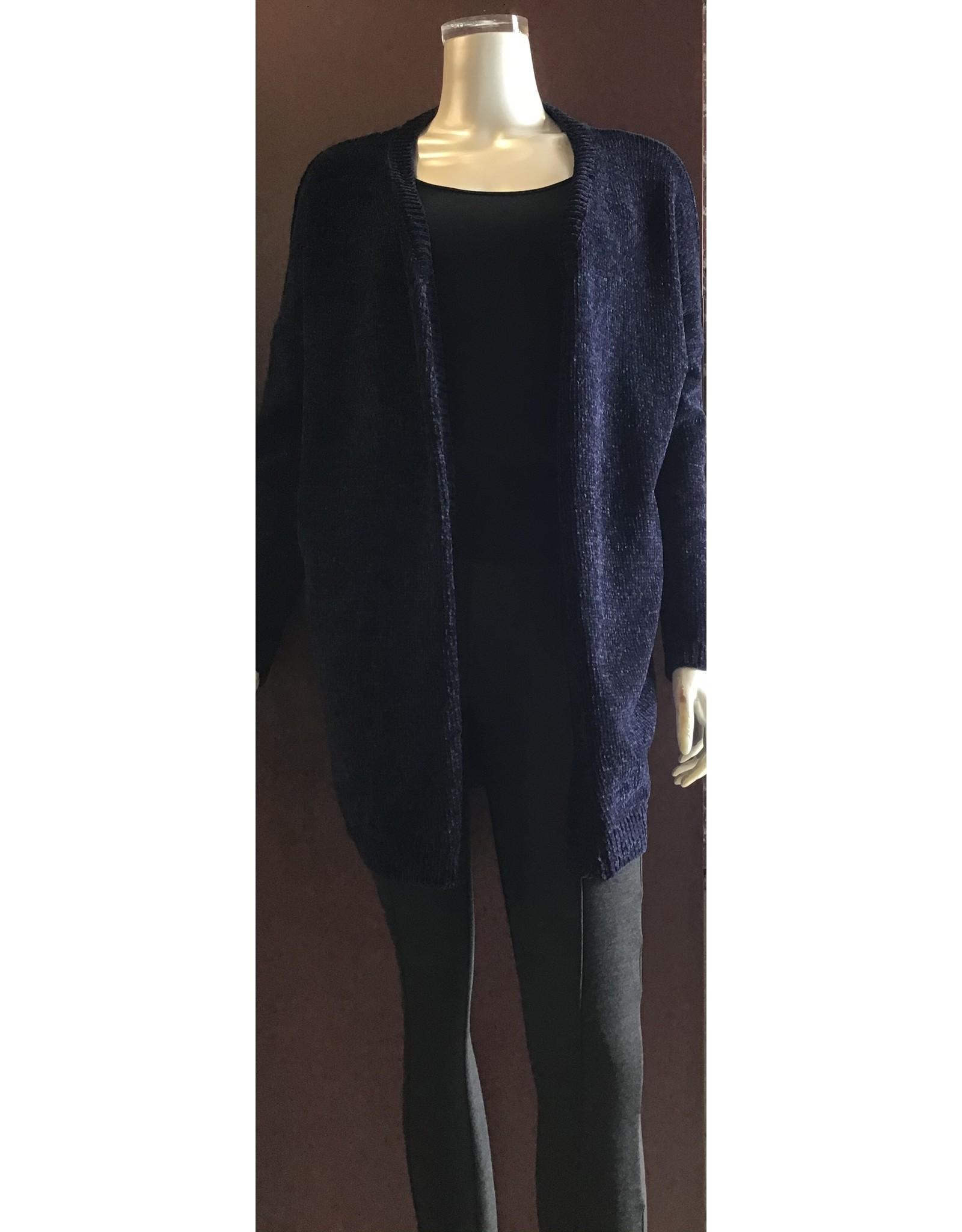 Molly Bracken Cardigan Knitted Navy