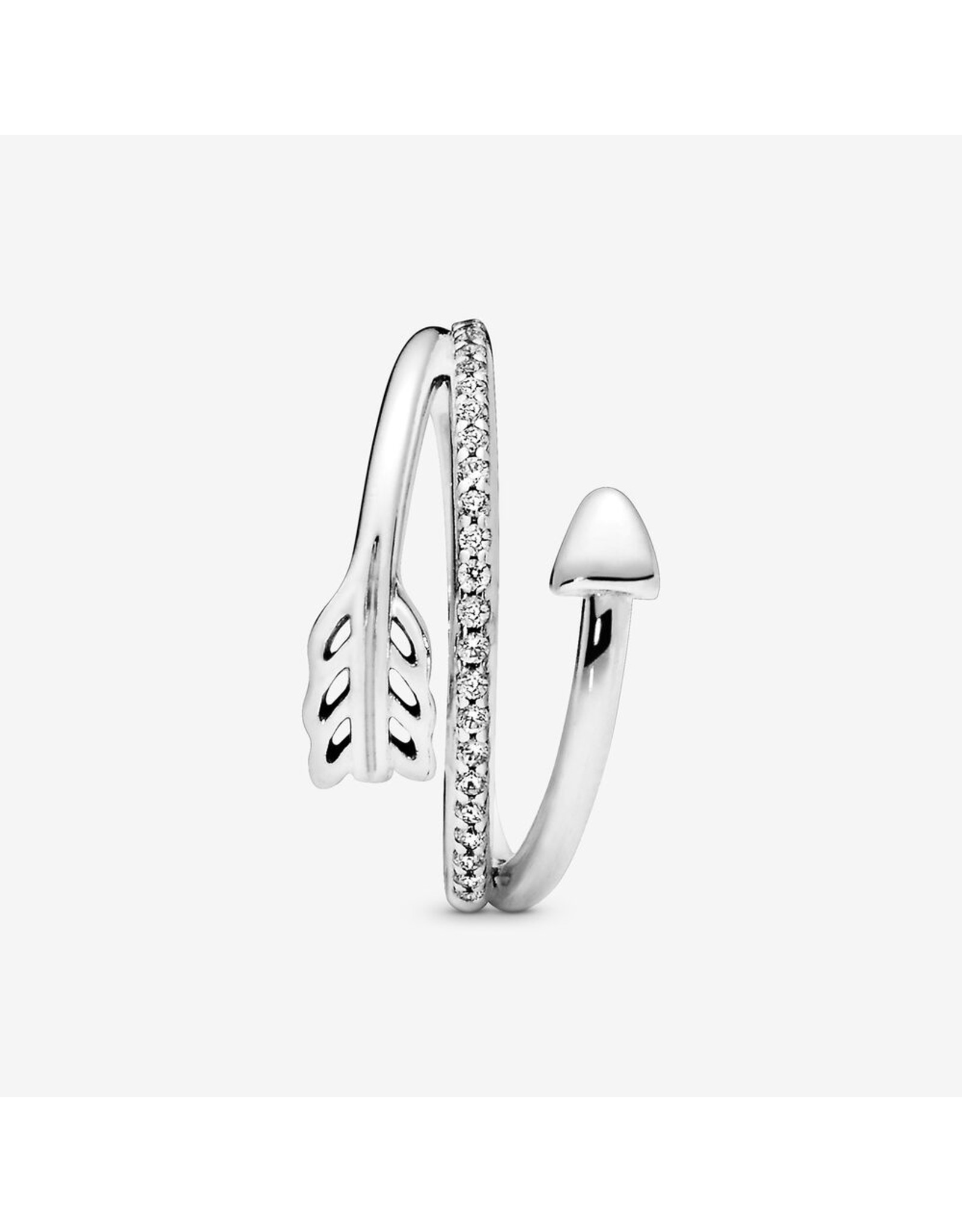 Pandora Pandora Ring,197830CZ, Wrap Around Arrow
