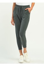 Basic Cupro Jogger, Dark Grey