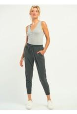 Henley Ribbed Bodysuit, Light Grey Heather
