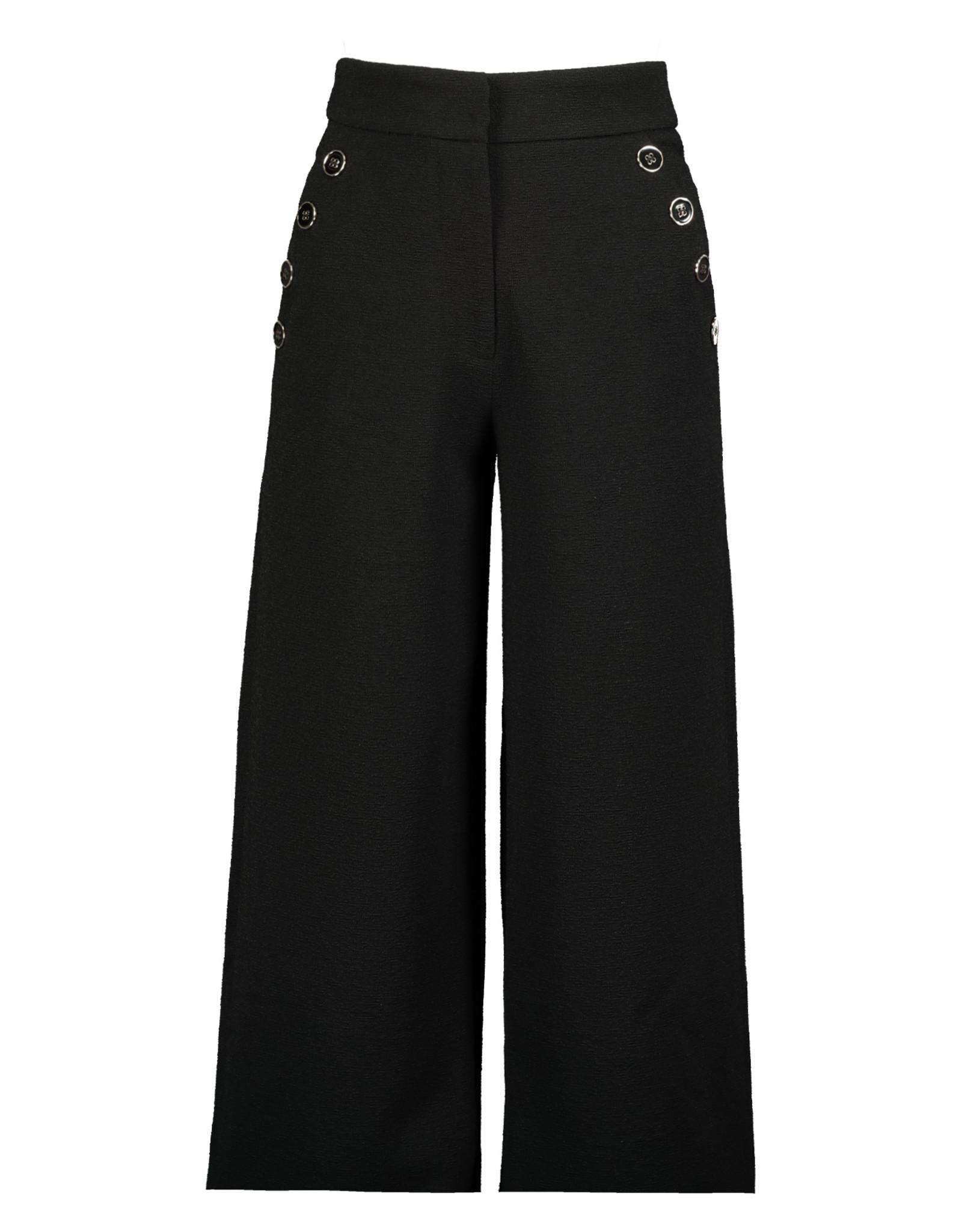 Femme Wide Leg Pant, Caviar Cav