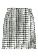 Chloe Skirt, Black/White