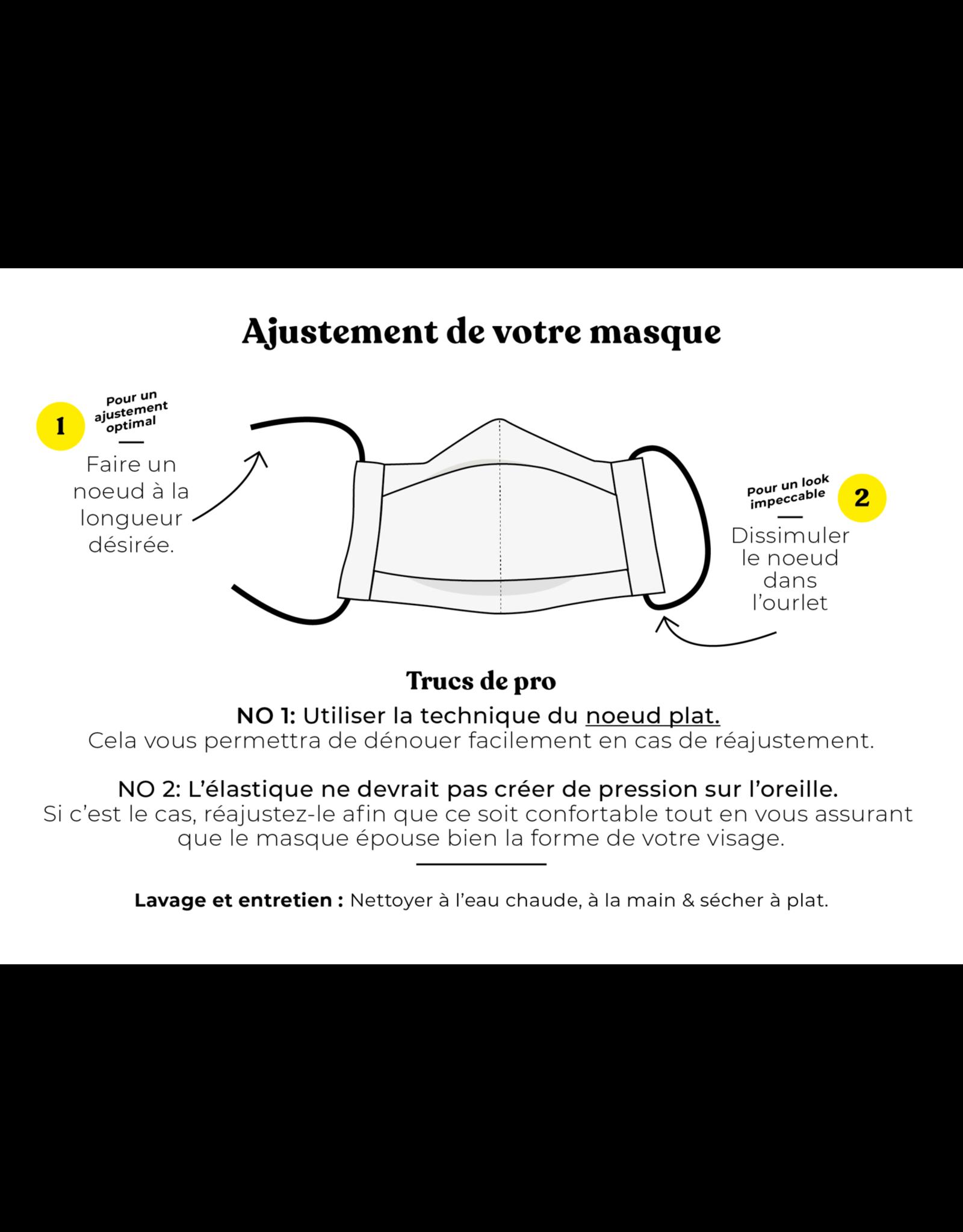 Augustine & CO Masque De Protection, Joani Houle, Noir