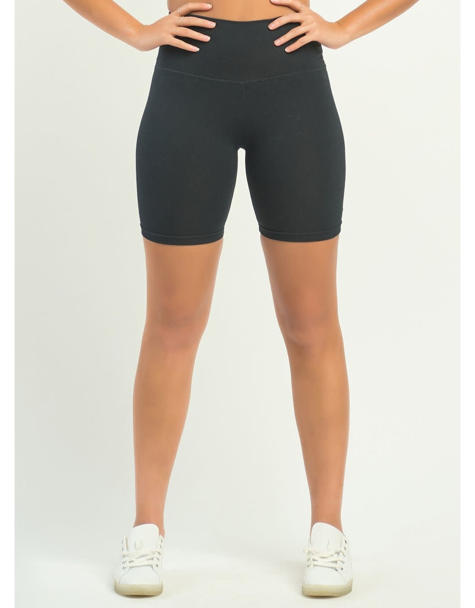 Basic Biker Short, Black