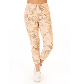Printed Faded Palm Jogger