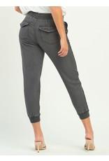 Knit Trim Jogger, Vintage Grey