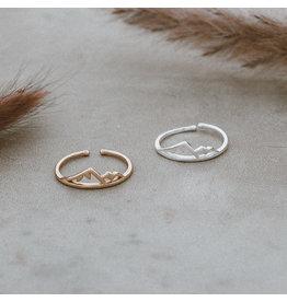 Glee jewelry Sea To Sky Ring/Silver