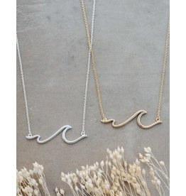 Glee jewelry Sombrio Necklace/Silver
