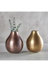47th & Maine Gold Vase