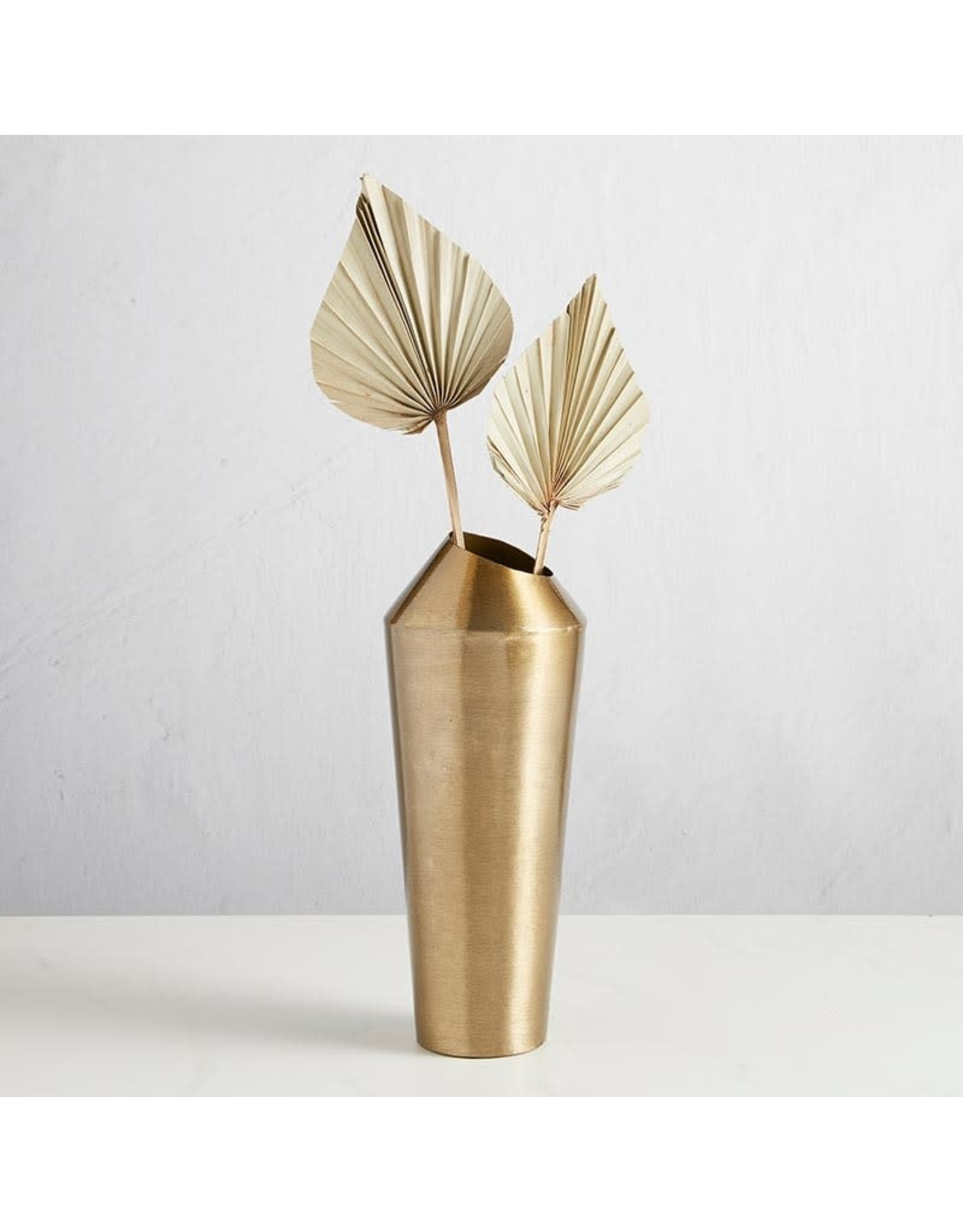 47th & Maine Matte Gold Vase