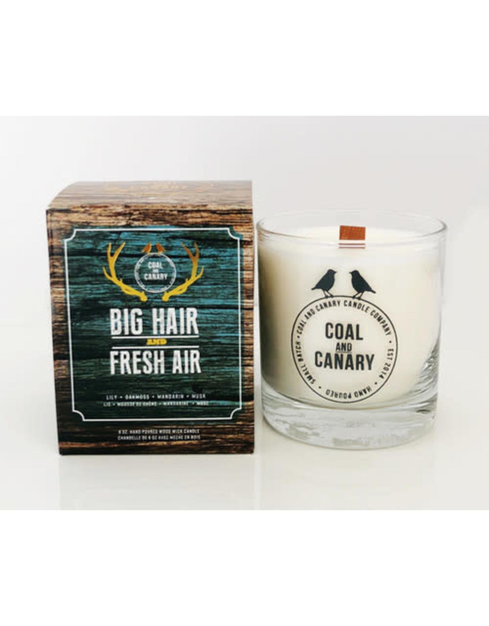 Coal&Canary Big Hair & Fresh Air Candle