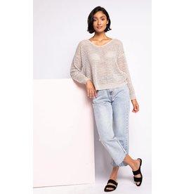 The Gretta Sweater, Beige