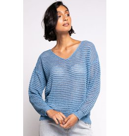 The Gretta Sweater, Blue