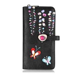 Spring Clutch Wallet, Black
