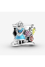 Pandora Pandora Charm,799348C01, Disney Alice In Wonderland & The Mad Hatter's Tea Party