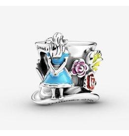 Pandora Pandora Charm,799348C01, Disney Alice In Wonderland & The Mad Hatter's Tea Party