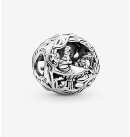 Pandora Pandora Charm,799361C00, Disney Alice In Wonderland, Cheshire Cat & Absolen Caterpillar