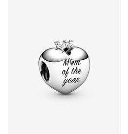 Pandora Pandora Charm,798823C00, Mom Of The Year