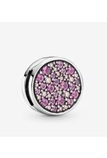 Pandora Pandora Charm,799362C01, Pink Pave, Pink Crystal & CZ